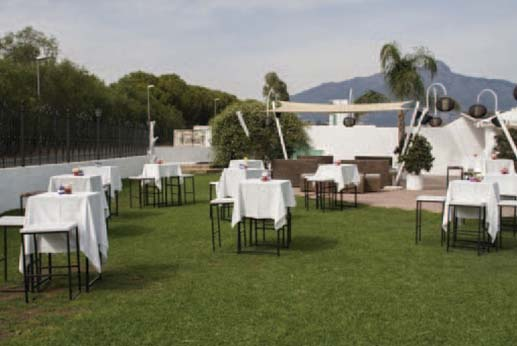 Restaurante el Gamonal - Jardines