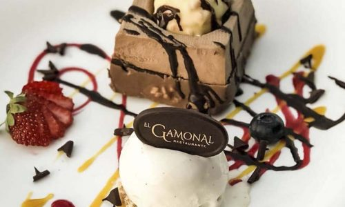 Restaurante el Gamonal - Postre brownie