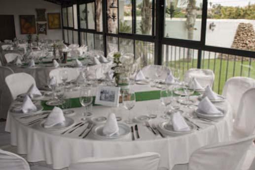 Restaurante el Gamonal - Salón Rafael Luque Cerván