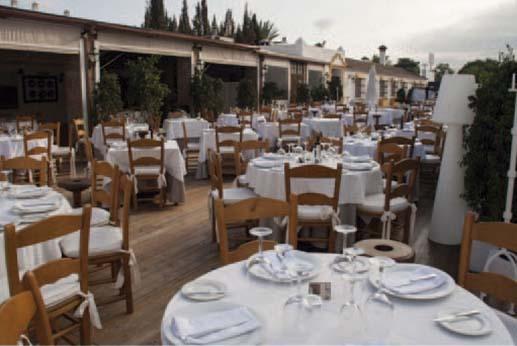 Restaurante el Gamonal - Terraza exterior