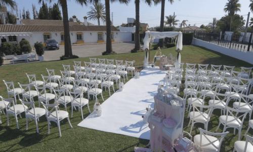 Jadin Celebraciones 1- EL Gamonal Restaurante Marbella