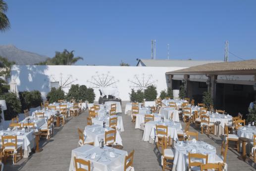 Terraza 2 - EL Gamonal Restaurante Marbella