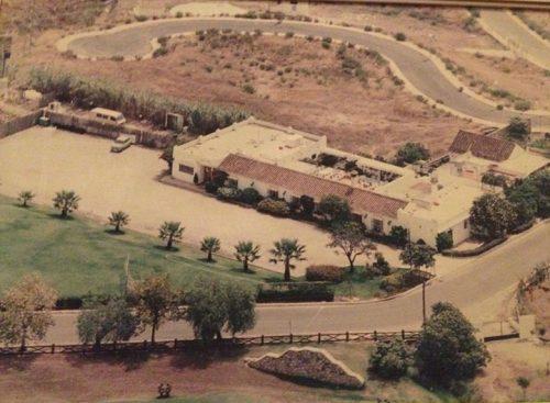 el gamonal restaurante marbella celebraciones vista aérea antigua